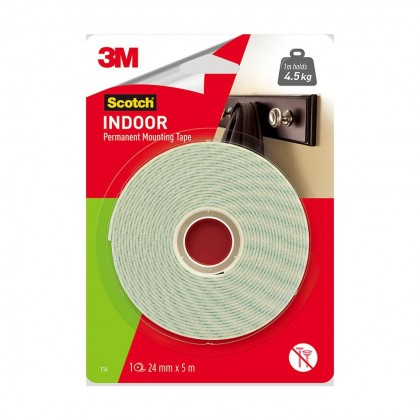 3M Scotch Mounting Tape 12mm x 4m