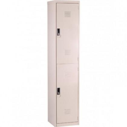 2 Door Compartment Steel Locker (ST-2D18)