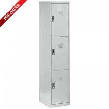 3 Door Compartment Steel Locker (ST-3D15)