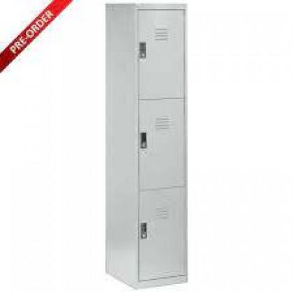 3 Door Compartment Steel Locker (ST-3D18)