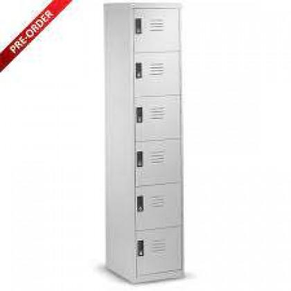 6 Door Compartment Steel Locker (ST-6D18)