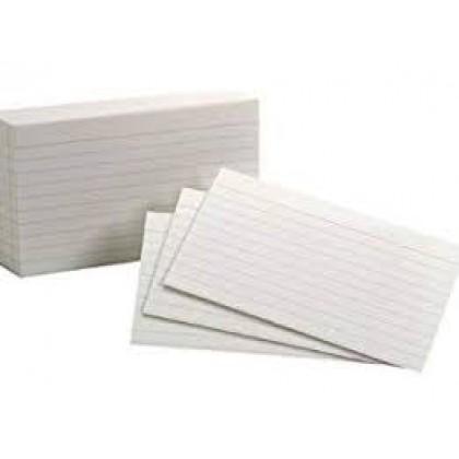 "Ruled Card 3"" X 5"" (UNI 3050)"